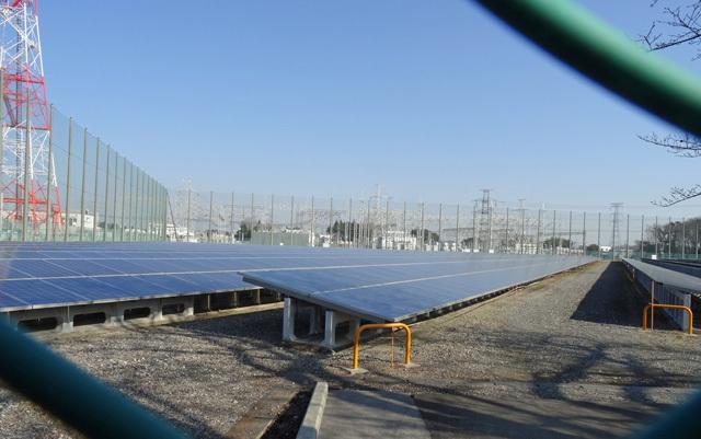 白岡太陽光発電所