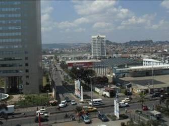 マダガスカル首都のビジネス街1