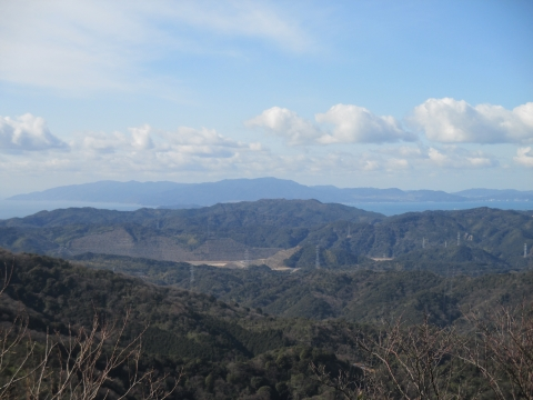 山頂から友ヶ島