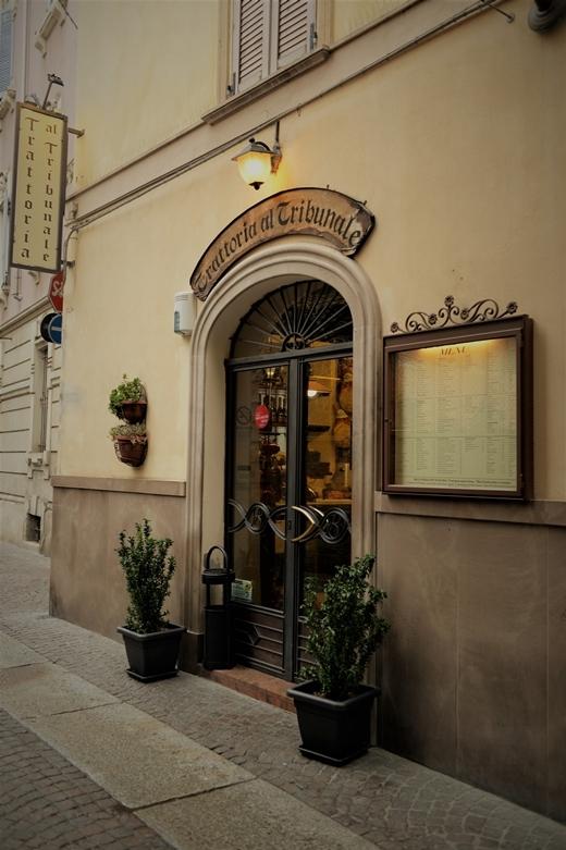 STK 7742 - パルマのレストラン「trattoria del tribunale」