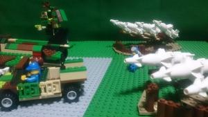 防空陣地を形成するHQ-125(2)
