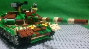 96式51口径125mm滑腔砲