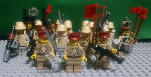 通尊人民軍陸軍兵士 集合