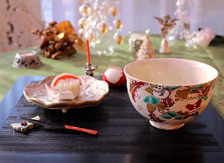 Xmas抹茶碗
