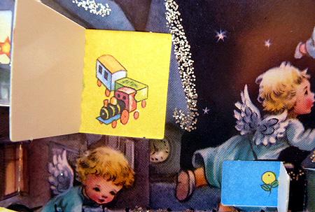 アドベント22日目おもちゃの汽車