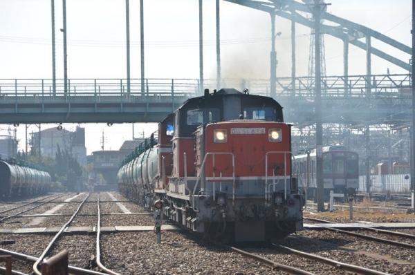 5282レ発車 I