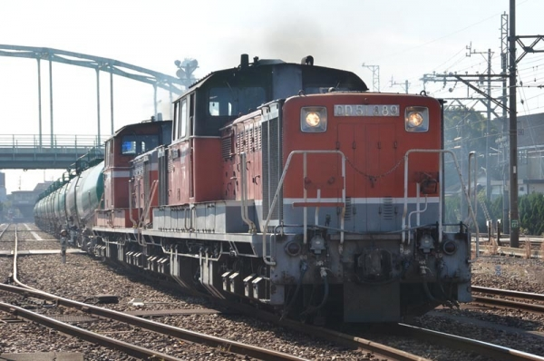 5282レ発車 II
