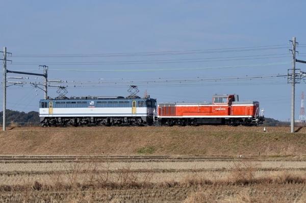 KE65 3甲種輸送(9863レ)
