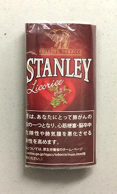 STANLEY_licorice STANLEY スタンレー・リコリス スタンレー リコリス フレーバー 手巻きタバコ シャグ RYO