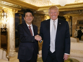 トランプ次期米国大統領との会談