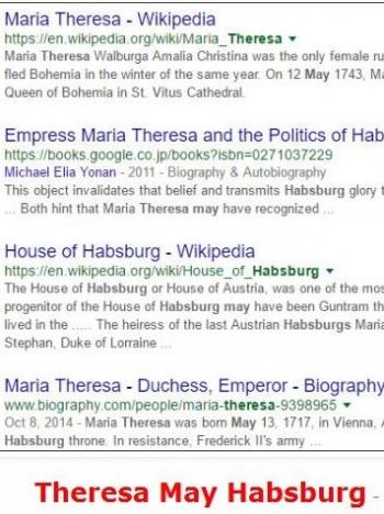 tokTheresa May Habsburg