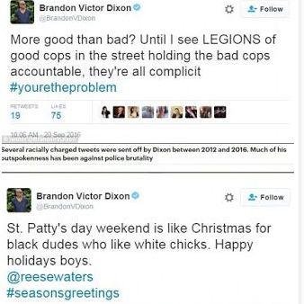 tok「Hamilton」騒動火中の黒人俳優、Brandon Victor Dixonがレイシストだった件