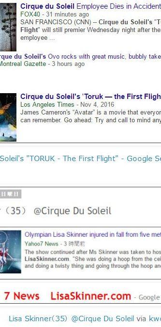 tokCirque du Soleils TORUK - The First Flight