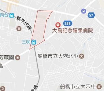 map船橋市三咲2
