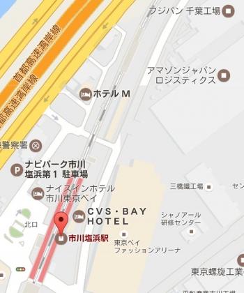map市川塩浜駅