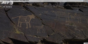 newsイランの古代岩壁画、経済制裁解除で研究進展に期待4