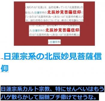 ten日蓮宗系の北辰妙見菩薩信仰