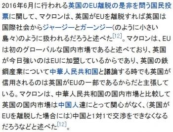 wikiエマニュエル・マクロン2