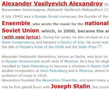tokAlexander Vasilyevich Alexandrov