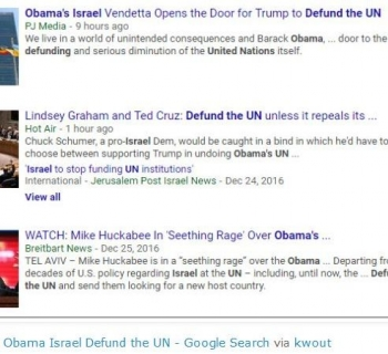 tokObama Israel Defund the UN