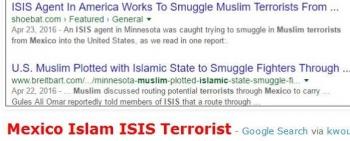 tokMexico Islam ISIS Terrorist