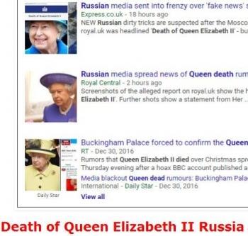 tokDeath of Queen Elizabeth II Russia