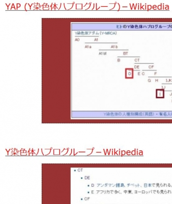 tenYAP (Y染色体ハプログループ)