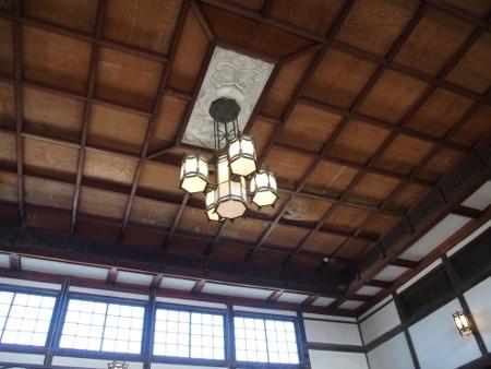 旧大社駅 照明