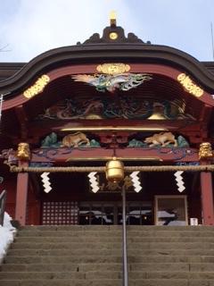 御嶽神社修復後