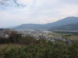[阿波]岩倉城/眺望