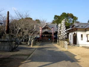 撫養城/妙見神社