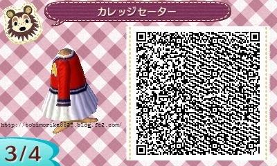 カレッジセーター 赤 (3)