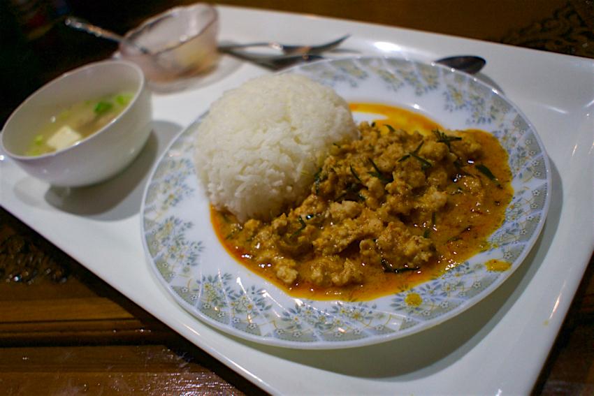 クルンテープ@宇都宮市東宿郷 鳥肉のココナッツカレー