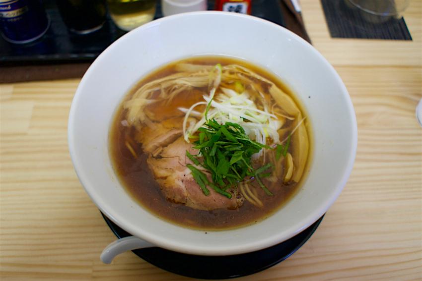 麺蔵あつお@栃木市倭町 醤油2