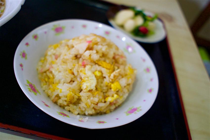 中華食堂やまと@さくら市喜連川 半チャーハン