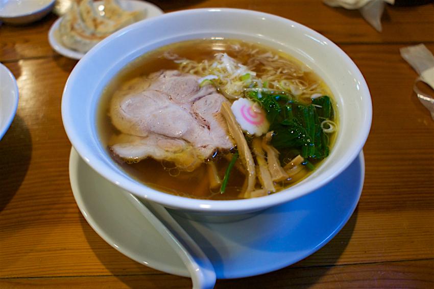 中華蕎麦しのざき@宇都宮市清原台 中華そば1