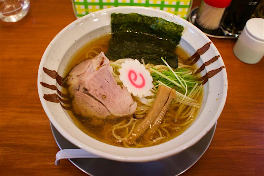中華そば かずしの@下野市石橋 醤油ら~麺1