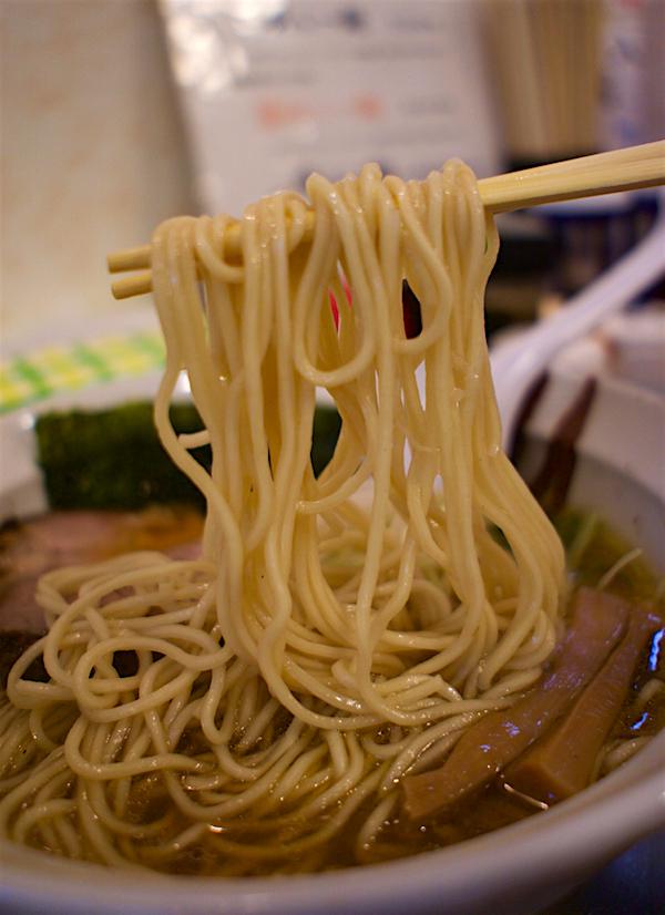 中華そば かずしの@下野市石橋  醤油ら~麺2