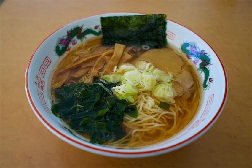 免許センターレストラン@鹿沼市下石川 ラーメン1