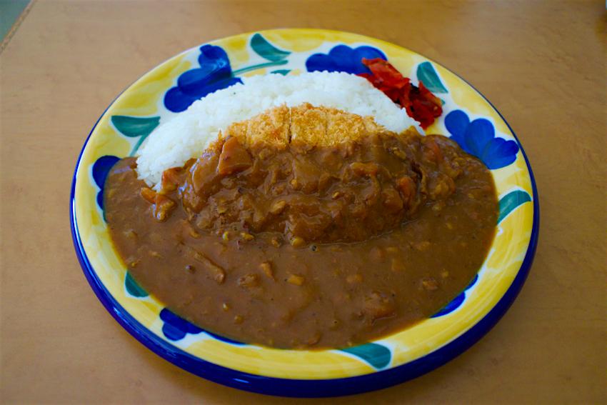免許センターレストラン@鹿沼市下石川 カツカレー1