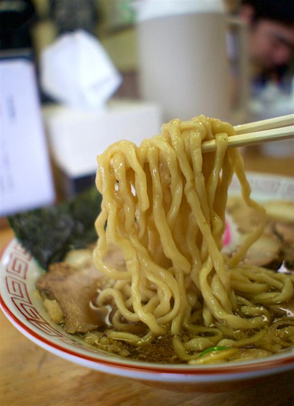 中華蕎麦 サンジ@小山市東城南 煮干香る生姜醤油2