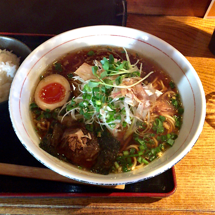 竹風 TIKU-FU @上三川町しらさぎ 魚介和風醤油ラーメン1