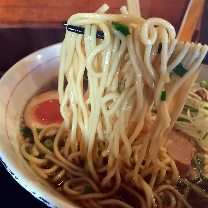 竹風 TIKU-FU @上三川町しらさぎ 魚介和風醤油ラーメン2