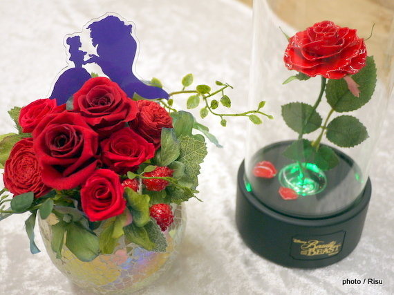 日比谷花壇クリスマス ディズニー 美女と野獣