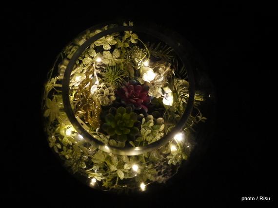 クリスマス デザイナーズアーティフィシャルアレンジメント「アルフヘイム」 日比谷花壇 2016クリスマス