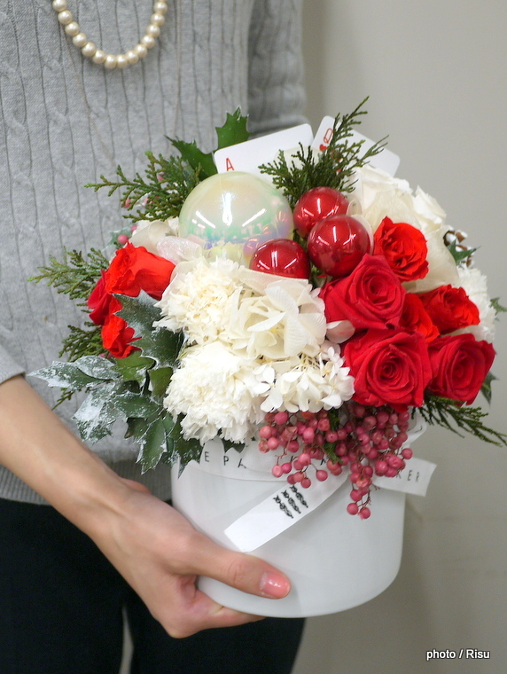 JANE PACKER 日比谷花壇 2016クリスマス