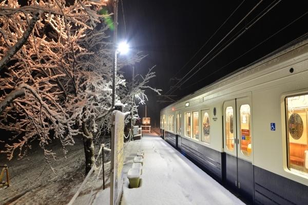 2017年1月8日 上田電鉄別所線 舞田 1000系1004編成