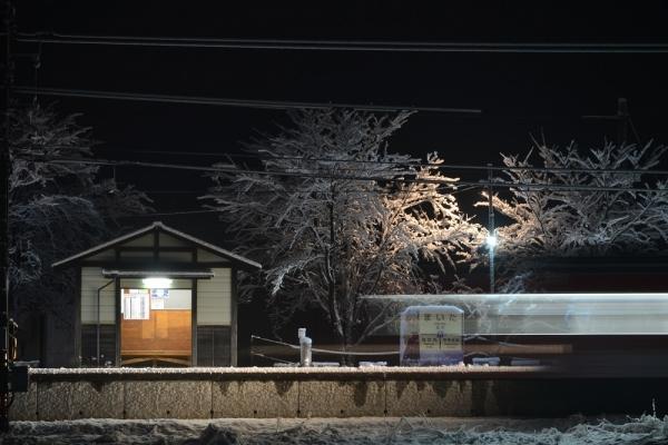 2017年1月8日 上田電鉄別所線 舞田 1000系1001編成