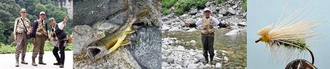 長野県渓流釣り