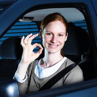 安全なドライバー